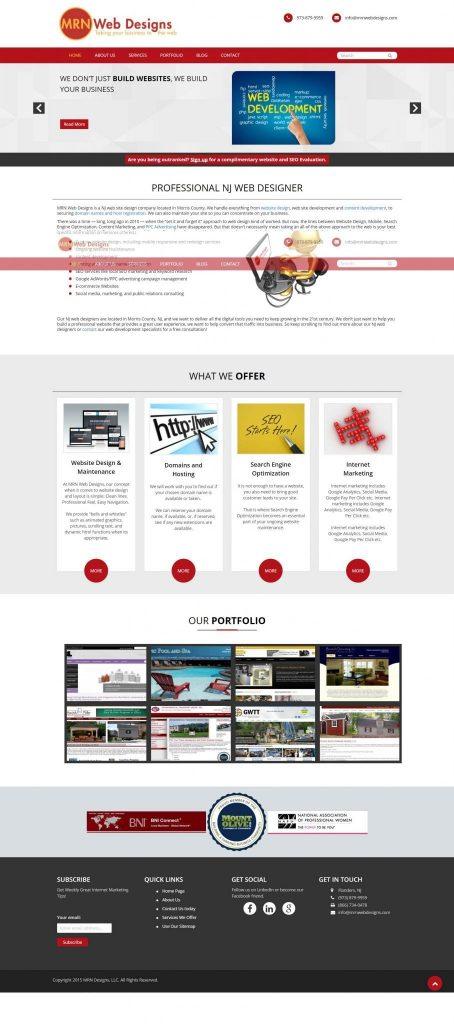 mrn web page